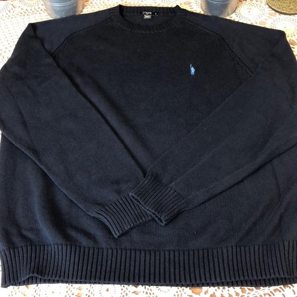 J. Crew Other - J Crew 100% Cotton Crewneck Sweater Navy